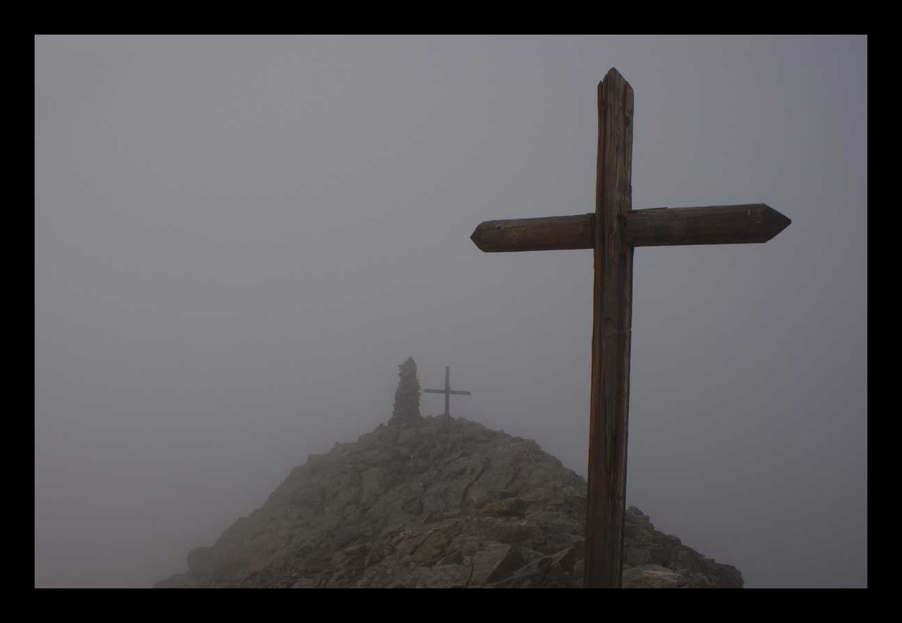 Un bref résumé de ma matinée, pris depuis le sommet du Ténibre