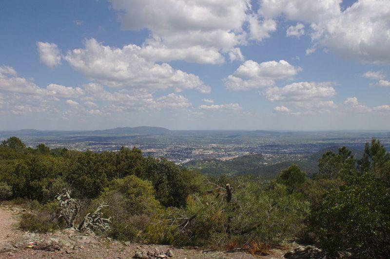 Vue sur Alès depuis Montcalm