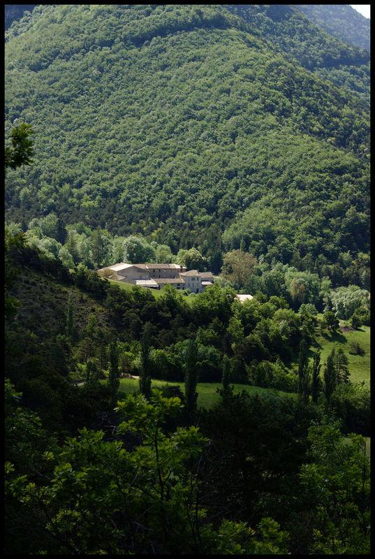 L'abbaye de Valcroissant
